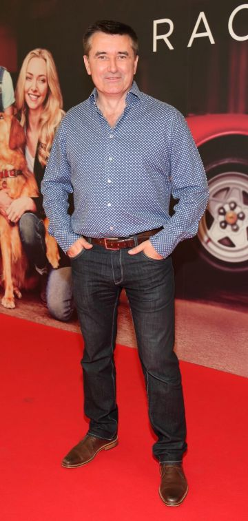 Martin King  at the special preview screening of The Art of Racing in the Rain at the Odeon Cinema in Point Square,Dublin . Pic Brian McEvoy Photography