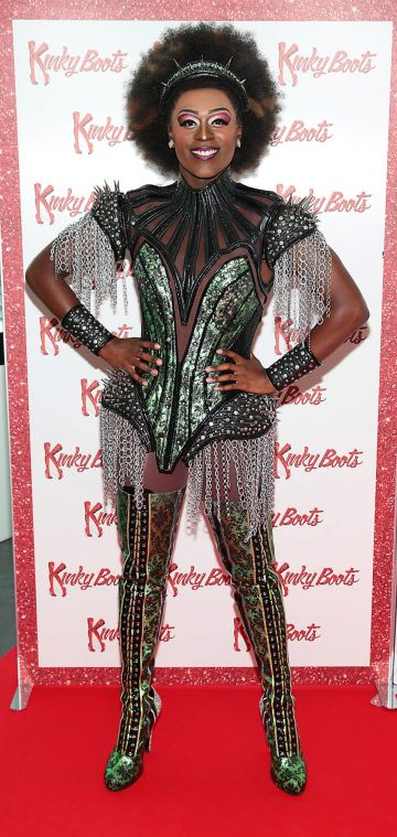 Jacob McIntosh at the opening of the musical Kinky Boots at the Bord Gais Energy Theatre, Dublin.  Picture: Brian McEvoy