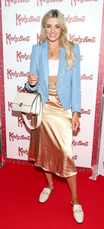 Louise Cooney at the opening of the musical Kinky Boots at the Bord Gais Energy Theatre, Dublin.  Picture: Brian McEvoy