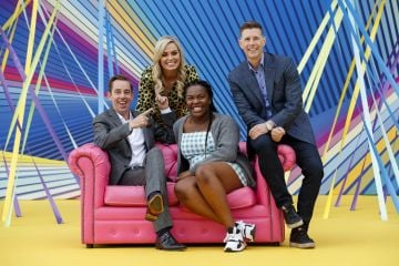 Ryan Tubridy, Anna Geary, Demi Isaac Ovawe and Dermot Bannon at RTÉ today announced a slate of new impactful Irish programming, star signings and a strong focus on climate as part of its upcoming new season. Picture: Andres Poveda