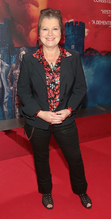Actres Mary McEvoy pictured at the special preview screening of Extra Ordinary at the Lighthouse Cinema, Dublin. Pic: Brian McEvoy.