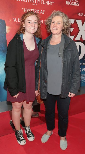 Amelie Bates and Marianne Bates at the special preview screening of Extra Ordinary at the Lighthouse Cinema, Dublin. Pic: Brian McEvoy.