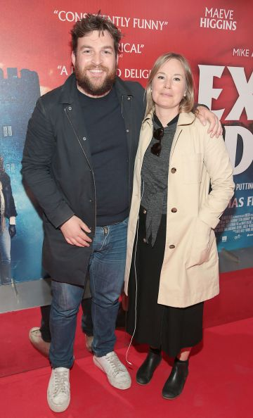 Matthew Smyth and Esther Walsh at the special preview screening of Extra Ordinary at the Lighthouse Cinema, Dublin. Pic: Brian McEvoy.