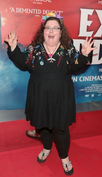 Alison Spittle at the special preview screening of Extra Ordinary at the Lighthouse Cinema, Dublin. Pic: Brian McEvoy.