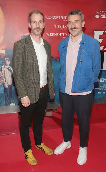 Directors Enda Loughman and Mike Ahern pictured at the special preview screening of Extra Ordinary at the Lighthouse Cinema, Dublin. Pic: Brian McEvoy.