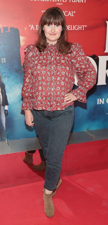 Niamh O Donoghue pictured at the special preview screening of Extra Ordinary at the Lighthouse Cinema, Dublin. Pic: Brian McEvoy.