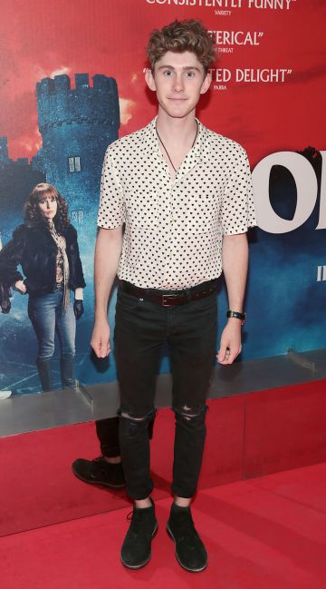Fionn O Shea at the special preview screening of Extra Ordinary at the Lighthouse Cinema, Dublin. Pic: Brian McEvoy.