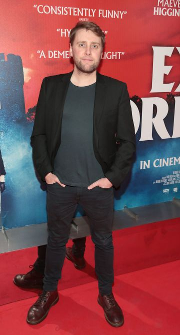Jamie Beamish at the special preview screening of Extra Ordinary at the Lighthouse Cinema, Dublin. Pic: Brian McEvoy.