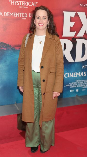 Neili Conroy at the special preview screening of Extra Ordinary at the Lighthouse Cinema, Dublin. Pic: Brian McEvoy.