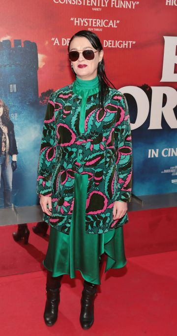 Bronagh Gallagher at the special preview screening of Extra Ordinary at the Lighthouse Cinema, Dublin. Pic: Brian McEvoy.
