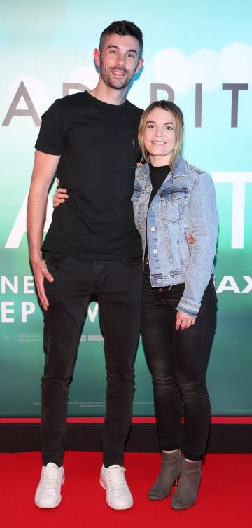 Steven Higgins and Aoife Rickard  at the special preview screening of Ad Astra at Cineworld, Dublin. Pic: Brian McEvoy Photography