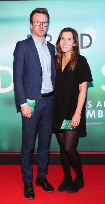 David McCrum and Nadia Skelton  at the special preview screening of Ad Astra at Cineworld, Dublin. Pic: Brian McEvoy Photography