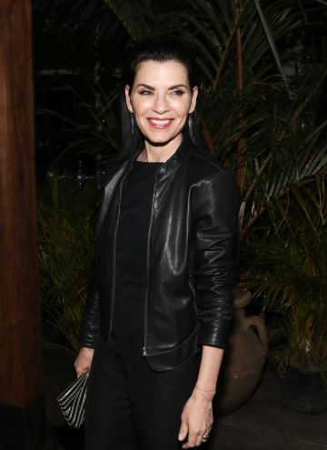 "NEW YORK, NEW YORK - JUNE 11:Actress Julianna Margulies attends the  New York Screening of ""Jett"" - after party at Gitano Jungle Terraces on June 11, 2019 in New York City. (Photo by Bennett Raglin/Getty Images)"