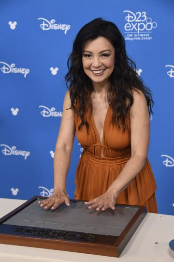 ANAHEIM, CALIFORNIA - AUGUST 23:Ming-Na Wen, attends D23 Disney Legends event at Anaheim Convention Center on August 23, 2019 in Anaheim, California. (Photo by Frazer Harrison/Getty Images)
