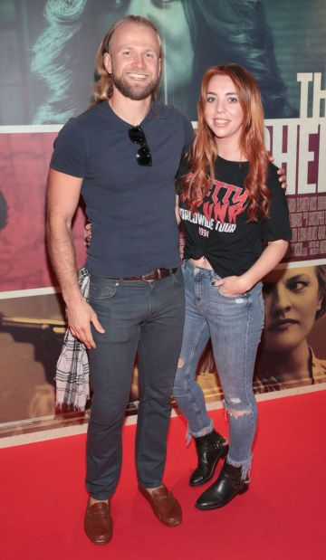 Dmitry Vinokurov and Sorcha Herlihy at the special preview screening of The Kitchen at Cineworld, Dublin.  Picture: Brian McEvoy