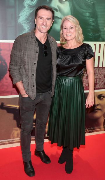 Fergus Kealy and Deborah Sweeney at the special preview screening of The Kitchen at Cineworld, Dublin.  Picture: Brian McEvoy