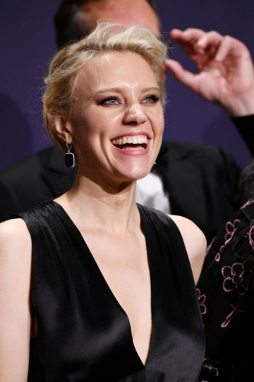 Kate McKinnon poses in the press room during the 71st Emmy Awards at Microsoft Theater on September 22, 2019 in Los Angeles, California. (Photo by Frazer Harrison/Getty Images)