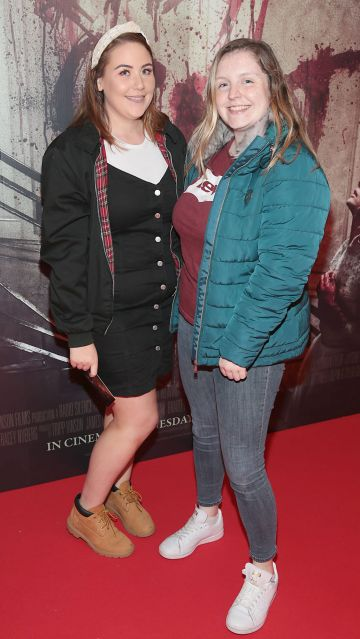 Laura Darling and Sorcha Power pictured at the special preview screening of Ready or Not at the Lighthouse Cinema, Dublin. Pic: Brian McEvoy