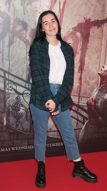 Madison Cawley at the special preview screening of Ready or Not at the Lighthouse Cinema, Dublin. Pic: Brian McEvoy
