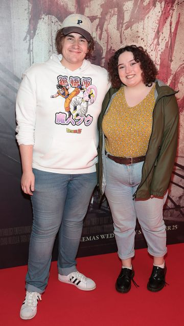 Aaron Devery and Angela Hegarty pictured at the special preview screening of Ready or Not at the Lighthouse Cinema, Dublin. Pic: Brian McEvoy