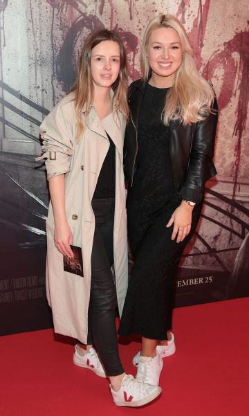 Sian Crawford and Sadbh McMahon pictured at the special preview screening of Ready or Not at the Lighthouse Cinema, Dublin. Pic: Brian McEvoy
