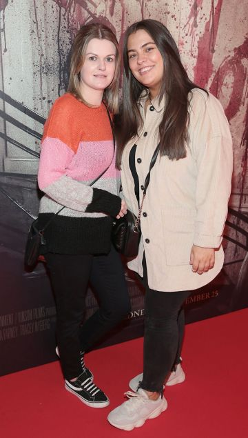 Trish Farrell and Erica Doyle pictured at the special preview screening of Ready or Not at the Lighthouse Cinema, Dublin. Pic: Brian McEvoy