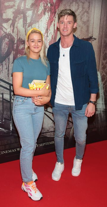 Karena Barry and Calvin Barry pictured at the special preview screening of Ready or Not at the Lighthouse Cinema, Dublin. Pic: Brian McEvoy