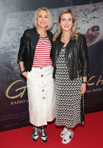 Nelly Herbut and Renata Dambrawskite  pictured at the Irish Premiere screening of The Goldfinch at the Lighthouse Cinema, Dublin.  Picture: Brian McEvoy.