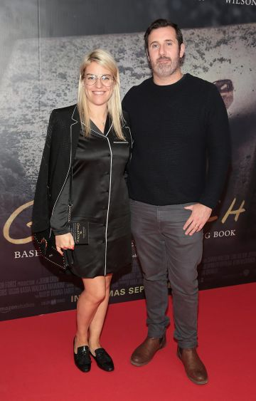 Julie Duhy and Robert Duhy pictured at the Irish Premiere screening of The Goldfinch at the Lighthouse Cinema, Dublin.  Picture: Brian McEvoy.