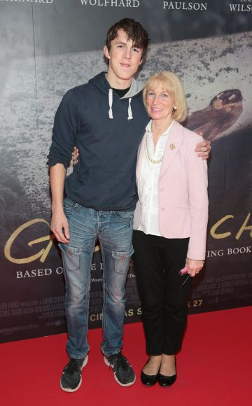 David Dwyer and Mary Woodfull pictured at the Irish Premiere screening of The Goldfinch at the Lighthouse Cinema, Dublin.  Picture: Brian McEvoy.