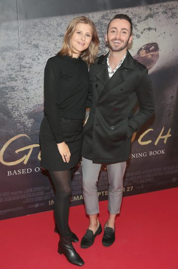 Issy McDonough and Furkan Yavuz pictured at the Irish Premiere screening of The Goldfinch at the Lighthouse Cinema, Dublin.  Picture: Brian McEvoy.
