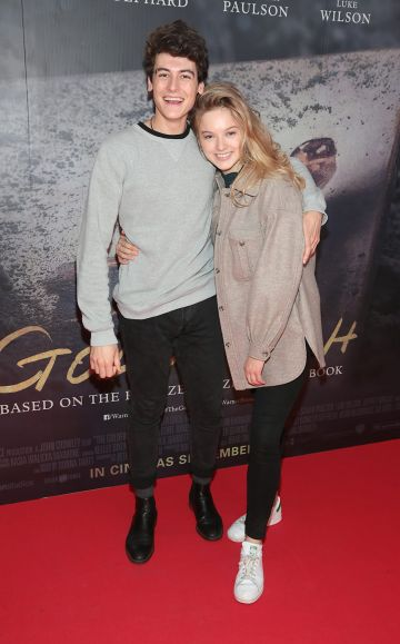 Jimmy O Donovan and Kerrie Patten pictured at the Irish Premiere screening of The Goldfinch at the Lighthouse Cinema, Dublin.  Picture: Brian McEvoy.