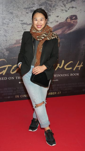 Judy Wong pictured at the Irish Premiere screening of The Goldfinch at the Lighthouse Cinema, Dublin.  Picture: Brian McEvoy.