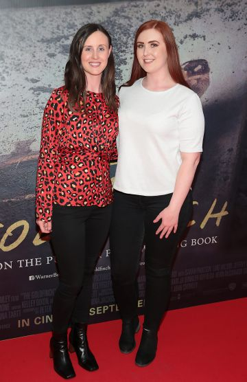 Amanda Fagan and Teresa Fagan pictured at the Irish Premiere screening of The Goldfinch at the Lighthouse Cinema, Dublin.  Picture: Brian McEvoy.