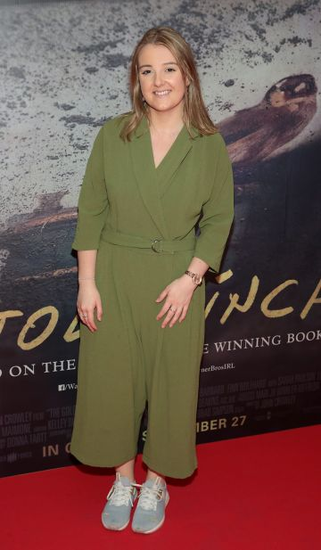 Kelly O Callaghan pictured at the Irish Premiere screening of The Goldfinch at the Lighthouse Cinema, Dublin.  Picture: Brian McEvoy.