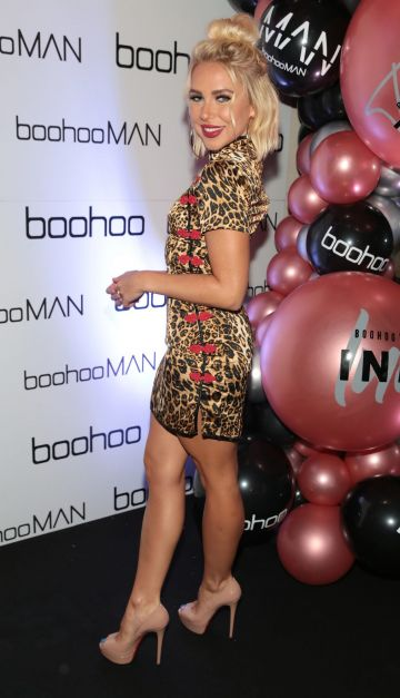 Gabby Allen at the Boohoo and BoohooMAN Ambassador Party in The Devlin Hotel, Ranelagh.  Picture: Brian McEvoy