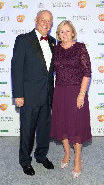Maurice and Pauline Pratt at the Barretstown 25th Anniversary Gala Ball at the RDS, Basllsbridge, Dublin.  Pic: Brian McEvoy Photography
