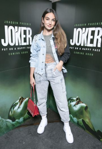 Shauna Lindsay at the special 70mm screening of Todd Phillips Joker at the IFI Dublin. Pic: Brian McEvoy Photography