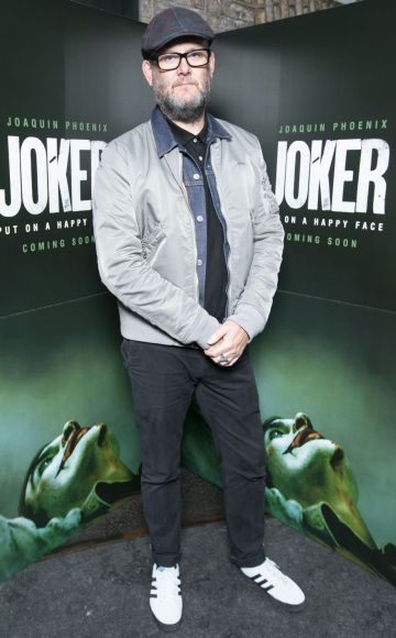 Brian O'Malley at the special 70mm screening of Todd Phillips Joker at the IFI Dublin. Pic: Brian McEvoy Photography