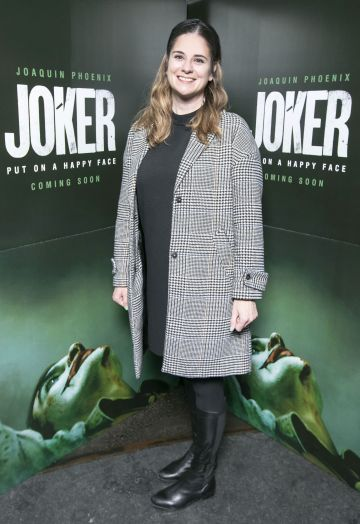 Odessa Stafford at the special 70mm screening of Todd Phillips Joker at the IFI Dublin. Pic: Brian McEvoy Photography