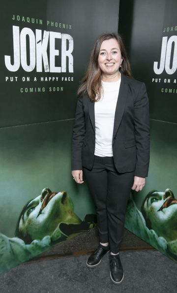 Helen Hutton at the special 70mm screening of Todd Phillips Joker at the IFI Dublin. Pic: Brian McEvoy Photography