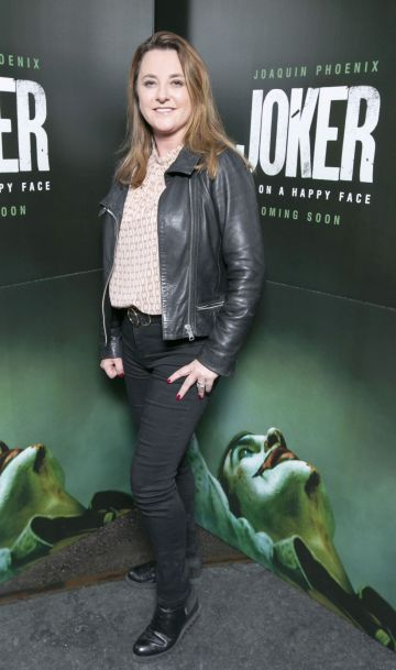 Ricarda McConnon at the special 70mm screening of Todd Phillips Joker at the IFI Dublin. Pic: Brian McEvoy Photography