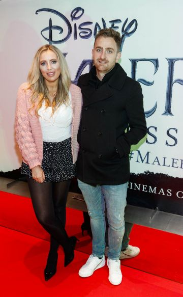 """AJ Fitzsimons and Edward Mackey pictured a the special preview screening of Disney's """"Maleficent: Mistress of Evil' at the Light House Cinema, Dublin. Picture: Andres Poveda"""