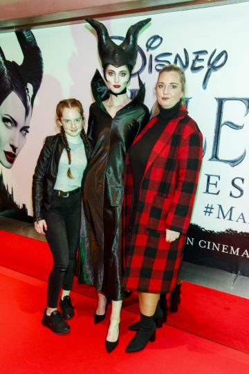 """The special preview screening of Disney's """"Maleficent: Mistress of Evil' at the Light House Cinema, Dublin. Picture: Andres Poveda"""