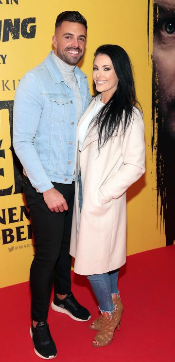 Karl Bowe and Lyn Mulvey at the special preview screening of Doctor Sleep at the Light House Cinema, Dublin. Pic: Brian McEvoy.