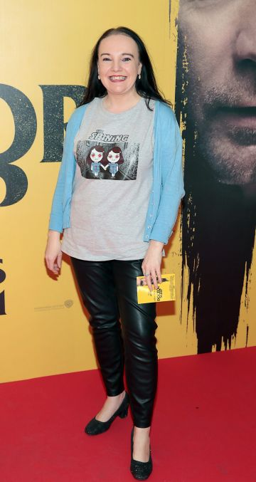 Sandra Newman at the special preview screening of Doctor Sleep at the Light House Cinema, Dublin. Pic: Brian McEvoy.