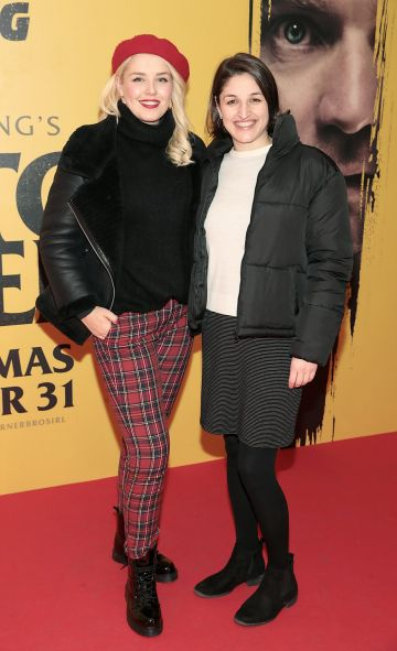 Rebecca Grimes and Myree Yergainharsian at the special preview screening of Doctor Sleep at the Light House Cinema, Dublin. Pic: Brian McEvoy.