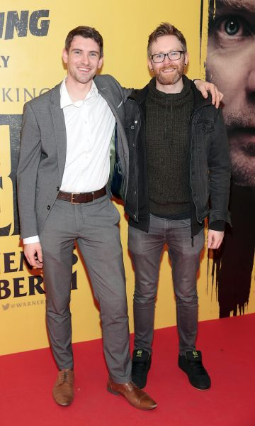 Shane Bradley and Paul Sweeney at the special preview screening of DDoctor Sleep at the Light House Cinema, Dublin. Pic: Brian McEvoy.