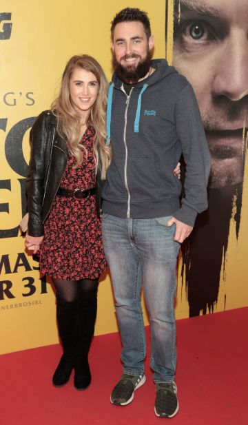 Laura Connolly and Robert Hughes at the special preview screening of Doctor Sleep at the Light House Cinema, Dublin. Pic: Brian McEvoy.