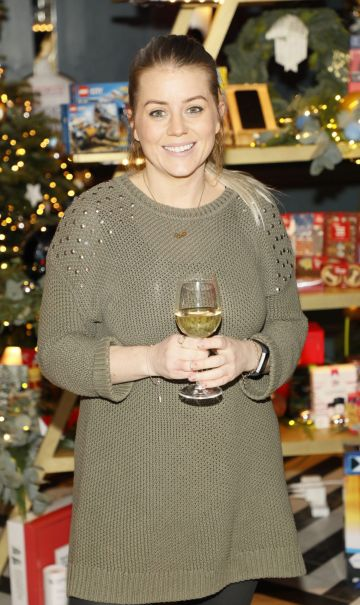 Amy McGovern at the Tesco 2019 Christmas Showcase in Dublin's Iveagh Garden Hotel.   Photo: Kieran Harnett